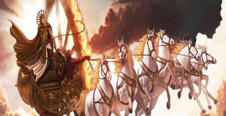 सूर्य के रथ में सात घोड़े