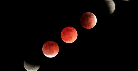 चंद्र ग्रहण के दौरान