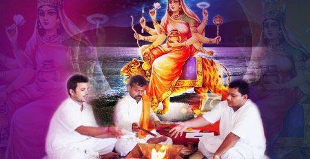 नवरात्रि में पूजन से पहले