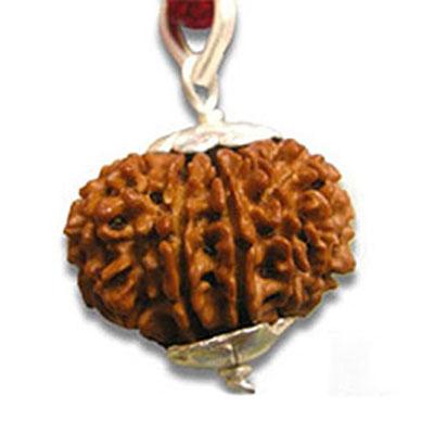 aath-mukhi-rudraksha-silver-cap-pendant