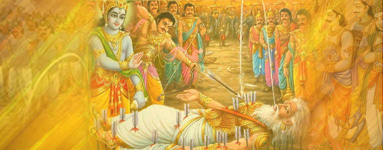 When Bhishma Was Lying On The Shaiya This Is The Reason Why Lord Krishna Was Smiling This Story Is A Must Read
