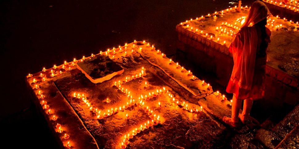 Swastika-hindu rituals